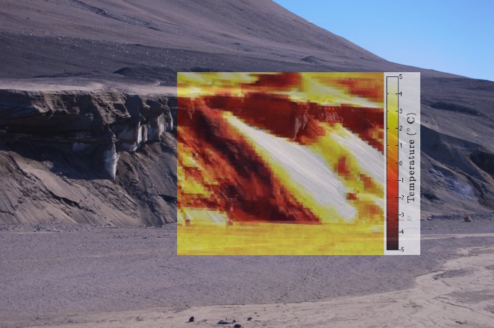 PAR | Antarctica Garwood Valley Thermal infrared time lapse