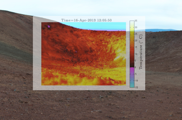 PAR_ Mauna kea thermal infrared timelapse